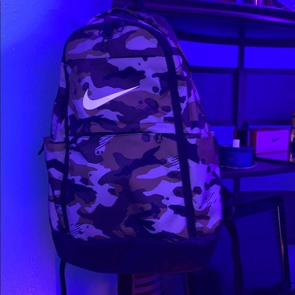 Nike backpack camouflage